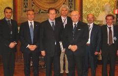 anama in delegazione con il sottosegretario Mantovani